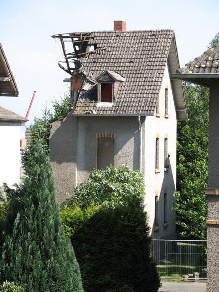 Zweites Haus fällt